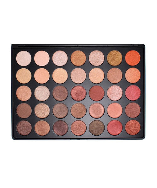 Morphe Brushes Eyeshadow Palette 35OS Colour Shimmer Nature Glow