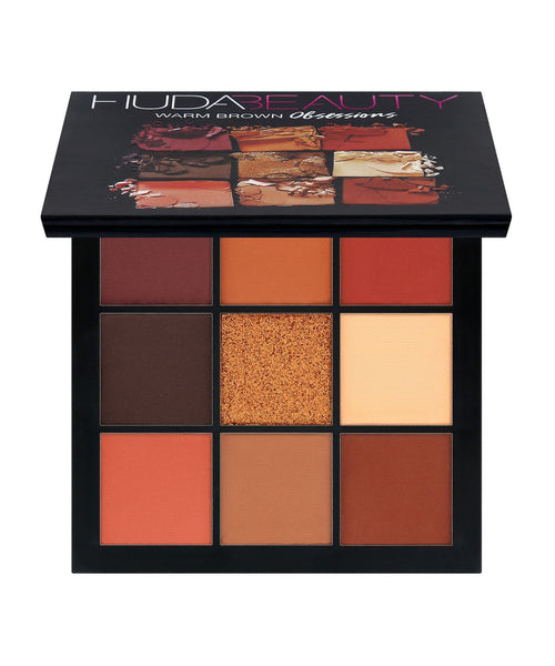 Huda Beauty Warm Brown Obsessions Eyeshadow Palette