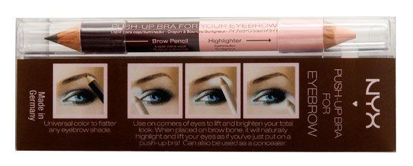 NYX Eyebrow Push-Up Bra Duo Brow Pencil