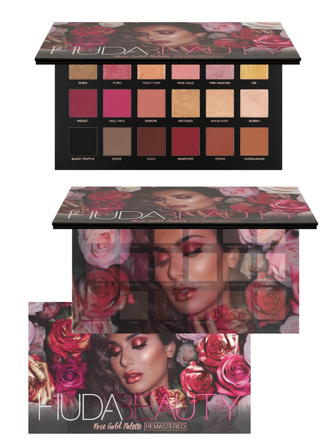Huda Beauty Rose Gold Remastered Palette