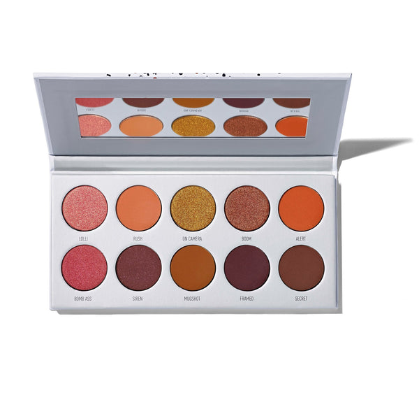Morphe x Jaclyn Hill Ring the Alarm Eyeshadow Palette