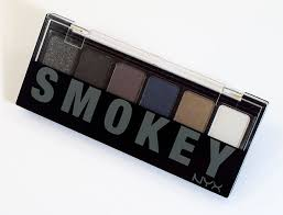 NYX Professional Makeup Smokey Eyeshadow Palette