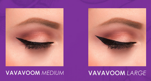 Vamp Stamp VAVAVOOM Stamp + VINK® Eyeliner Ink + VERGE Angle Brush