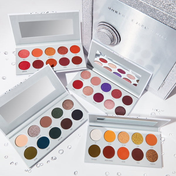Morphe x Jaclyn Hill The Vault eyeshadow collection - 4 palettes