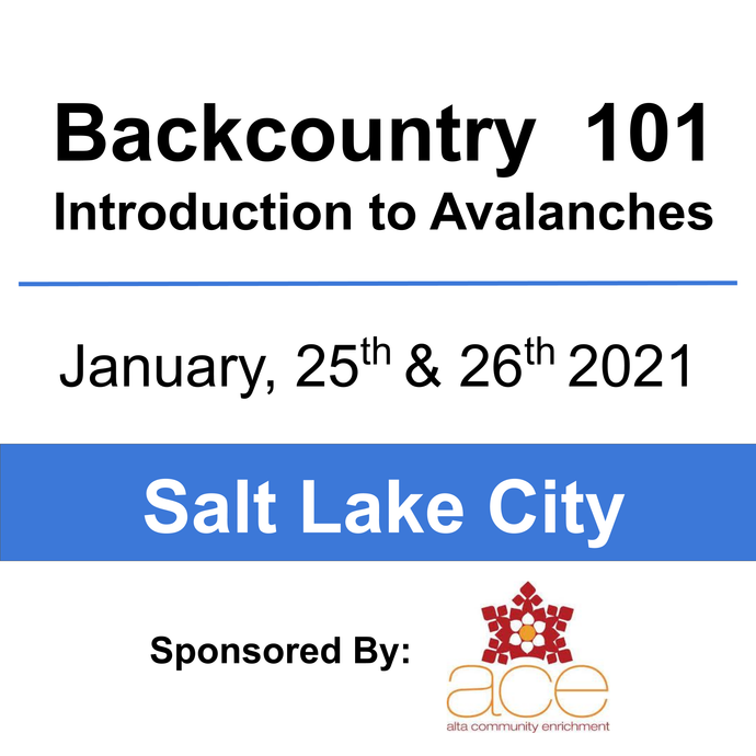 Backcountry 101 - Alta Employee - January 25 & 26, 2020