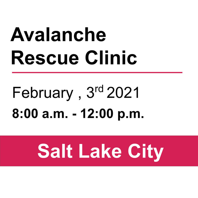 Avalanche Rescue Clinic - SLC - February 3