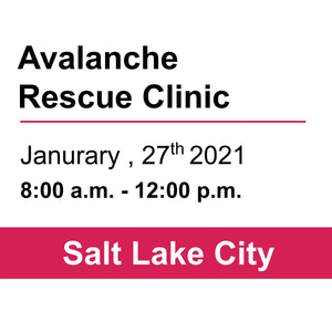 Avalanche Rescue Clinic - SLC - January 27