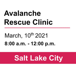 Avalanche Rescue Clinic - SLC - March 10