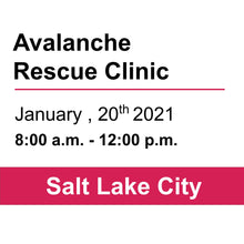 Avalanche Rescue Clinic - SLC - January 20