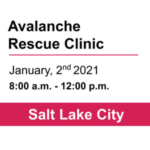 Avalanche Rescue Clinic- January 2