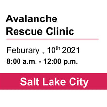 Avalanche Rescue Clinic - SLC - February 10