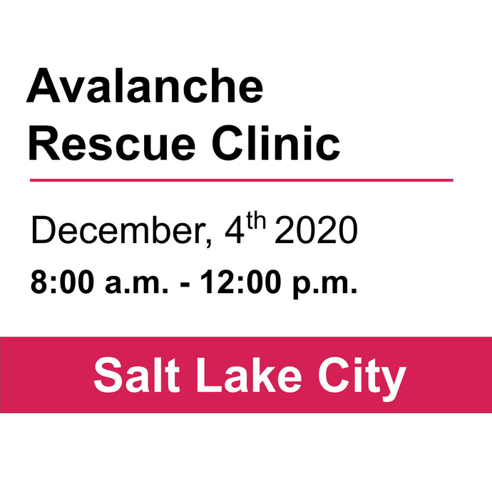 Avalanche Rescue Clinic- December 4