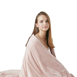Degrees of Comfort [Upgraded Weighted Throw Blanket | Thick & Fuzzy Blanket Can Be Taken Anywhere Sleep with Pilling Proof, Durable, Soft Blanket Built to Last