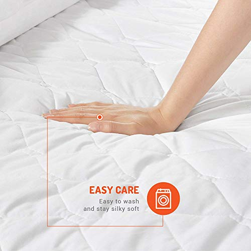 Degrees of Comfort [New Heated Mattress Pad – Fit 15 Inch | Single Controllers – 12.5ft Cord | Lower Home Power Bill & Relieve Sore Muscles/Joints