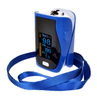 Finger Pulse Oximeter Digital Portable Box Set