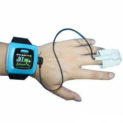 Wrist  Finger Pulse Oximeter and Blood Pressure Monitor