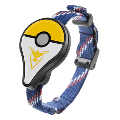 Bluetooth Wristband Watch Game Accessory of Pokemon GO PLUS - Yellow