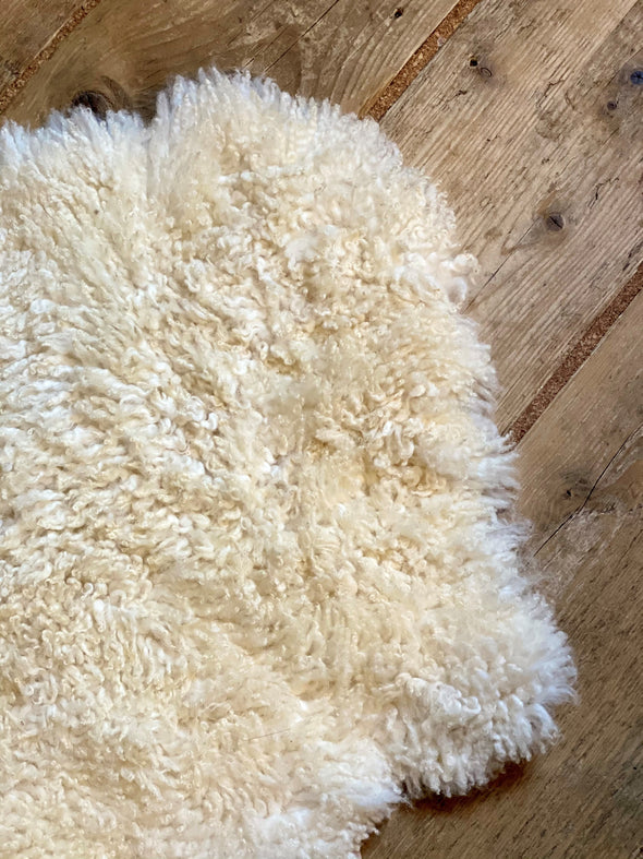 Organically Tanned Lambskin Rug