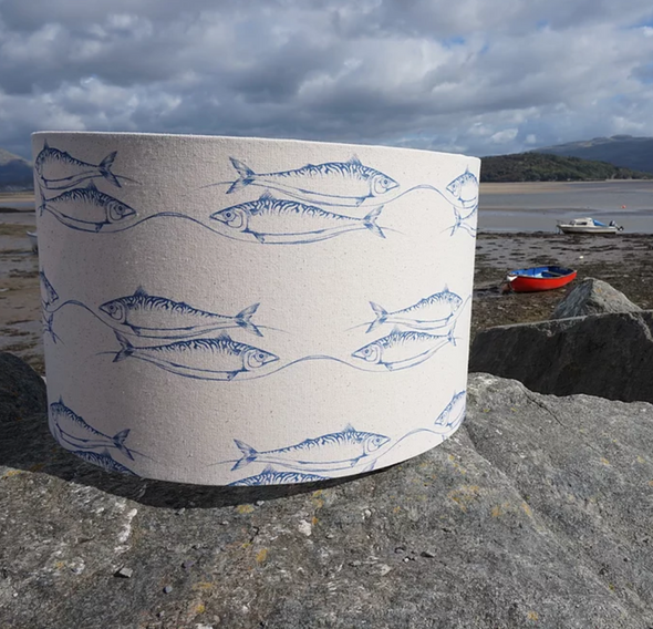 Nautical Fish Design Lampshade