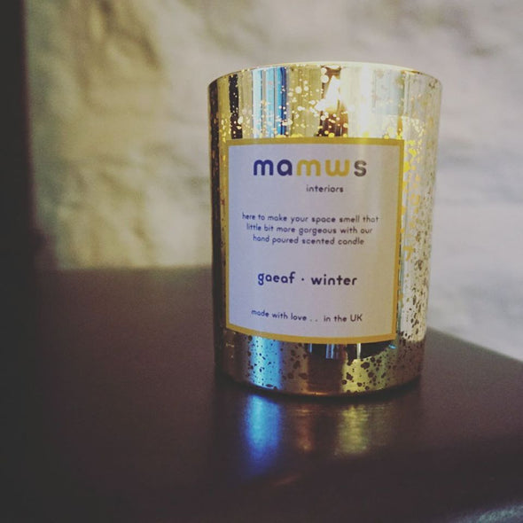 Luxury Handpoured Winter Candle