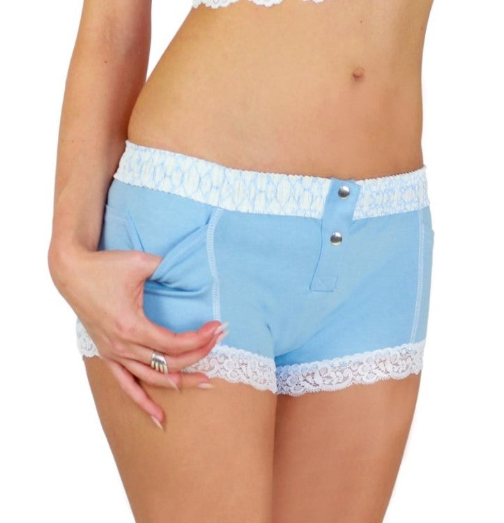 Foxers Boxer Brief Light Blue