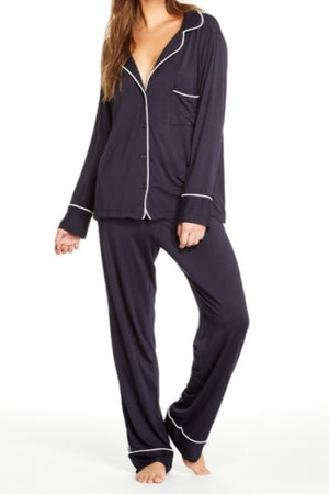 Monaco Pajama Set Navy Blue