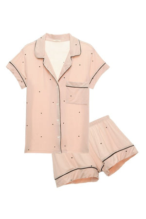 Dots Short PJ Set