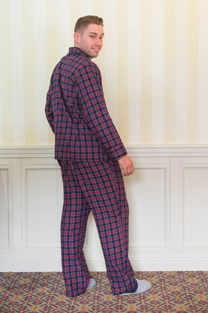 Pyjamas Lee Valley Flannel Navy Tartan
