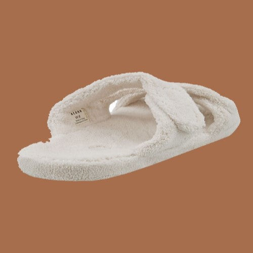 Acorn Spa Fit Z-Strap Slipper Creme