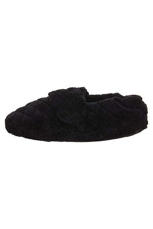 Spa Wrap Slippers Black