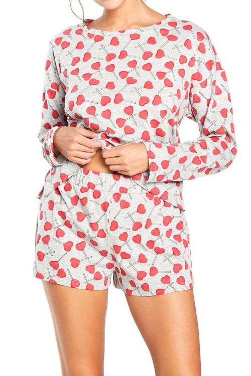 Charming Lounge Long Sleeve Boxer Set