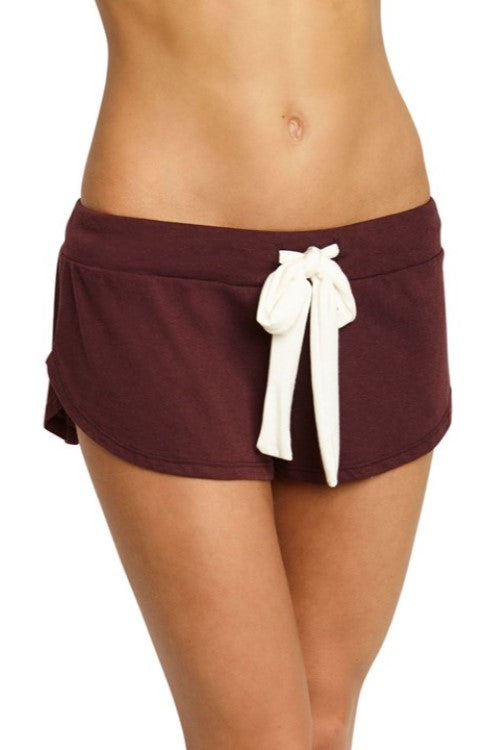 Heather Lounge Shorts Vineyard Wine