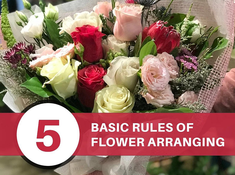 What are the Basic Rules of Flower Arranging?