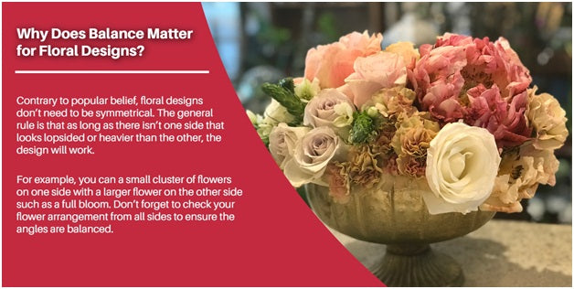 Why does balance matter for floral designs? | Terra Plants & Flowers