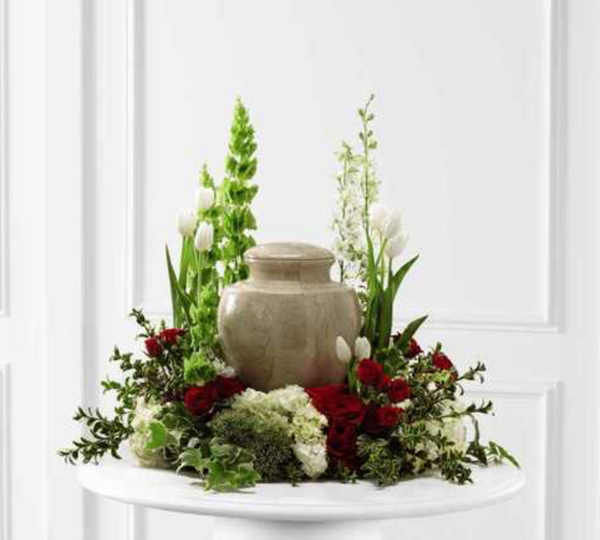 Cremation Flower arrangement