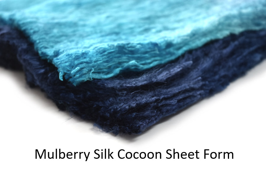 Mulberry Silk Cocoon Sheet Form