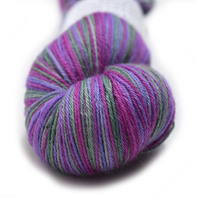 100% Baby Alpaca Yarn 4 Ply Fingering Weight Pink Purple Green 12601| 4 Ply Alpaca Yarn | Sally Ridgway | Shop Wool, Felt and Fibre Online