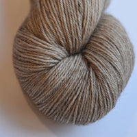 Baby Alpaca Yarn 4 Ply Hand Dyed Knitting Weaving Crochet Baby Alpaca Dolls Hair Gifts Sock weight yarn Soft Brown 4Ply 12044