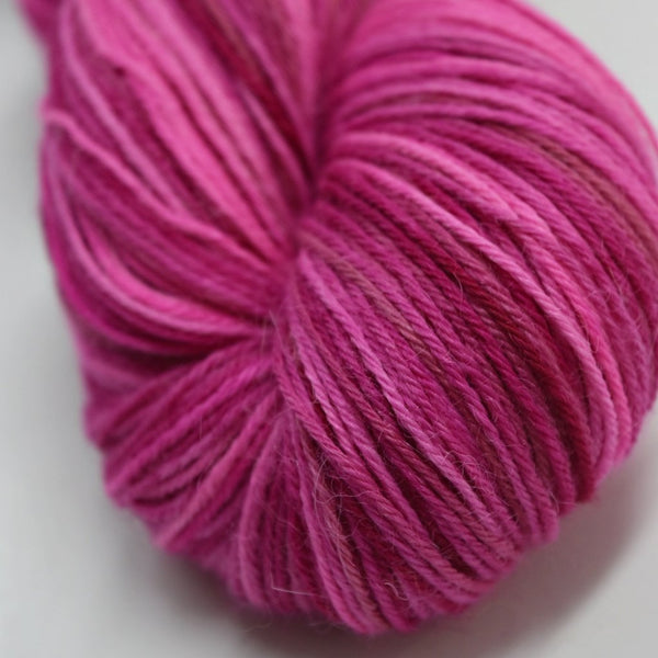 Baby Alpaca Yarn 4 Ply Hand Dyed Pink Mix 4 Ply 12242| 4 Ply Alpaca Yarn | Sally Ridgway | Shop Wool, Felt and Fibre Online