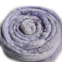 Australian Merino Wool Roving Combed Top Pale Purple Mix 12375| Merino wool tops | Sally Ridgway | Shop Wool, Felt and Fibre Online