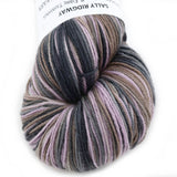 Sock Yarn 4 Ply Australian Merino Wool Hand Dyed Pink Brown Grey Mix 12533| Sock Yarn | Sally Ridgway | Shop Wool, Felt and Fibre Online