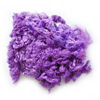 Mulberry Silk Throwster Waste Fibre Purple 20 grams 12630| Silk Throwster | Sally Ridgway | Shop Wool, Felt and Fibre Online