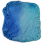 Mulberry Silk Hankies Hand Dyed Blue 10 grams 12654| Silk Hankies | Sally Ridgway | Shop Wool, Felt and Fibre Online