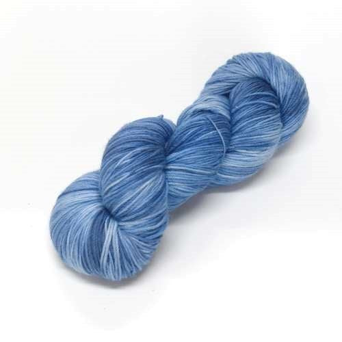 Sock Yarn 4 Ply Australian Merino Wool Knitting Yarn Hand Dyed Sky Blue 12697| Sock Yarn | Sally Ridgway | Shop Wool, Felt and Fibre Online