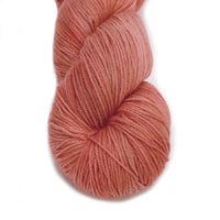 Sock Yarn 4 Ply Australian Merino Wool Knitting Yarn Hand Dyed Apricot Orange 12714| Sock Yarn | Sally Ridgway | Shop Wool, Felt and Fibre Online