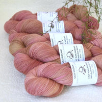 4 Ply Pure Australian Merino Wool Yarn Hand Dyed Russet Pink 13260| 4 Ply Pure Merino Yarn | Sally Ridgway | Shop Wool, Felt and Fibre Online