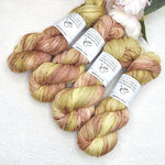 4 ply Supreme Sock Yarn Hand Dyed Ginger Biscuit 13419| Sock Yarn | Sally Ridgway | Shop Wool, Felt and Fibre Online