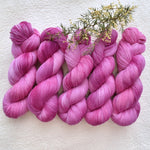 4 Ply Pure Australian Merino Wool Yarn Hand Dyed Pink Kisses 13310| 4 Ply Pure Merino Yarn | Sally Ridgway | Shop Wool, Felt and Fibre Online