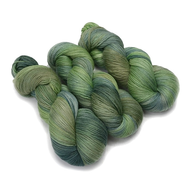 4 Ply Pure Australian Merino Wool Yarn Hand Dyed New Grass 13056| 4 Ply Pure Merino Yarn | Sally Ridgway | Shop Wool, Felt and Fibre Online