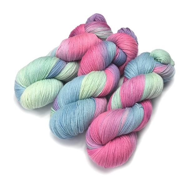 4 Ply Pure Australian Merino Wool Yarn Hand Dyed Cup Cakes 13058| 4 Ply Pure Merino Yarn | Sally Ridgway | Shop Wool, Felt and Fibre Online